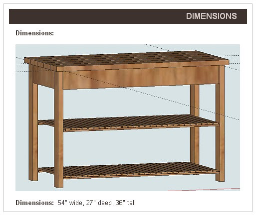 relatively reagan diy kitchen island