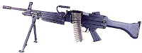 Daewoo K3 light machine gun LMG