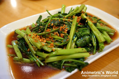Spicy Stir-Fried Kangkong at MyThai Kitchen in Il Terrazzo