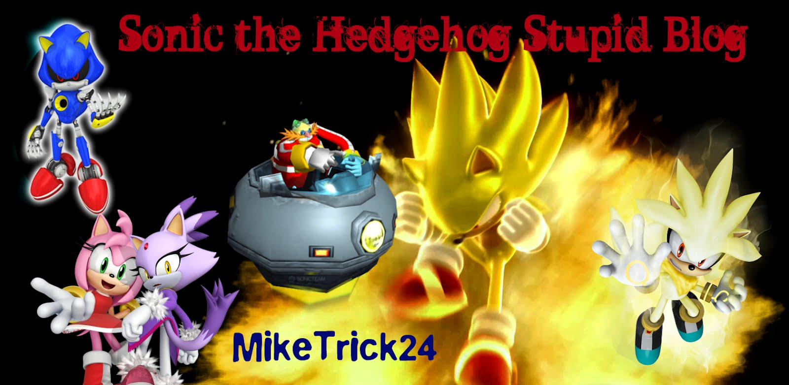 Sonic the Hedgehog Stupid Blog