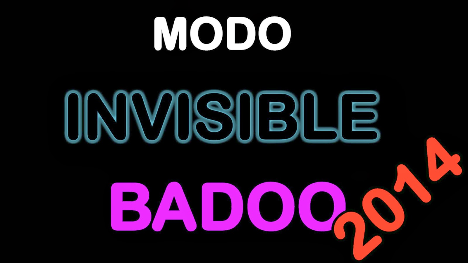 activar modo invisible en badoo