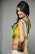 Kushi glamorous saree photos-thumbnail-9