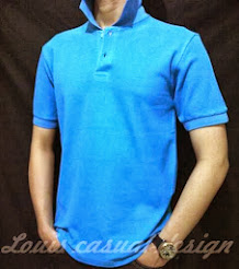 kaos polo 'louis casual design'