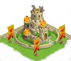 foto de la torre nidal de dragon city