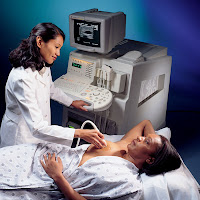 Ecosonograma ecografia o ultrasonido mamario