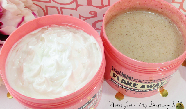 seriously soft skin soap and glory flake away righteous butter notesfrommydressingtable.com