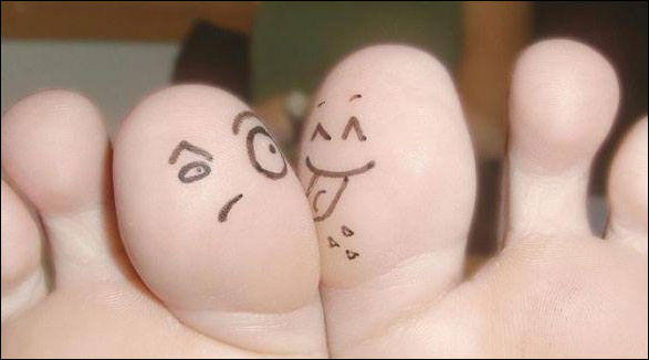 funny image about Funny Finger Art