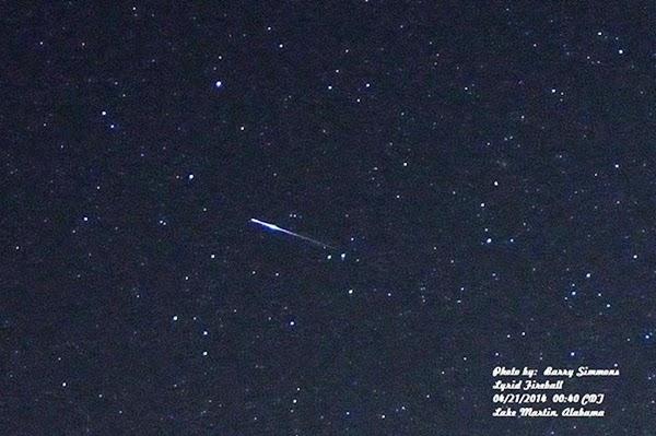 GALERI: Hujan Meteor Lyrid 2014