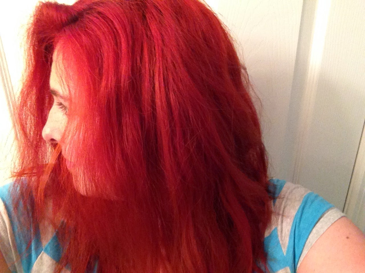 How I Got Ariel Red Hair Using Henna Sheena The Henna Queen