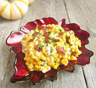 Creamy Parmesan Corn