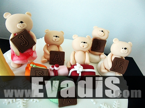 Picture Of Teddy Bear Holding The Characters