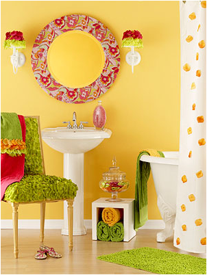 Teen girls bathroom ideas room design inspirations for Teen girl bathroom ideas