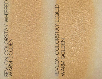 Revlon Colorstay Whipped Foundation Swatch