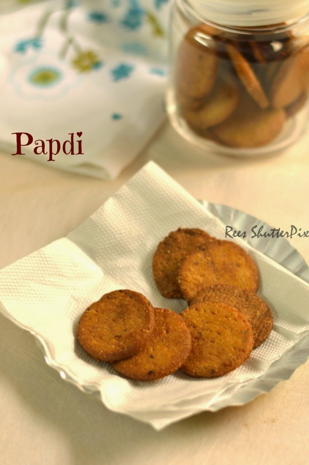 crispy papdi chaat recipe