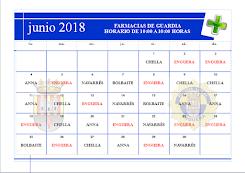 FARMACIAS JUNIO 2018
