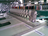 Large Scale Designing by Computerized Embroidery Machine