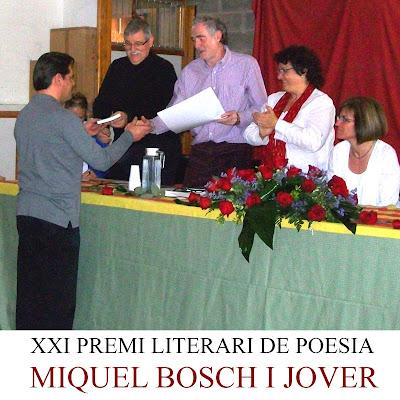 XXI Premi Miquel Bosch i Jover de Poesia - Toni Arencón i Arias