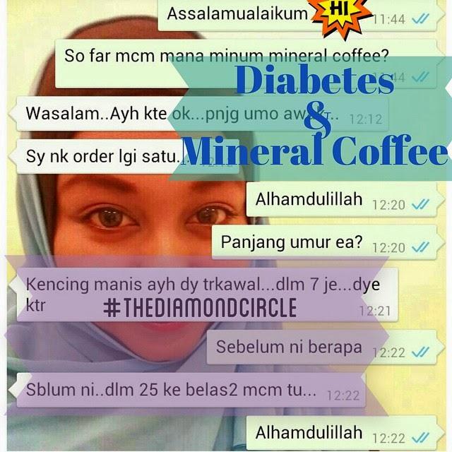 Mineral Coffee untuk diabetes