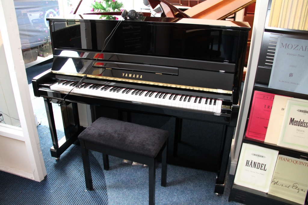 New and used yamaha pianos for sale yamaha uprights for Yamaha b1 piano price