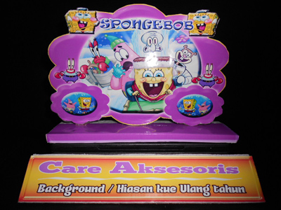 background kue ulang tahun spongebob background kue ulang tahun