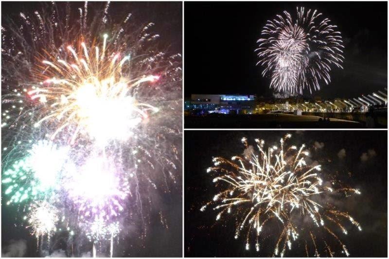 Gran Noche de los Fuegos Artificiales en Gijon, Semana Grande de Gijon, Agosto 2014