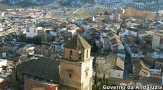 Vista de igreja na cidade espanhola (Foto: Governo da Andaluzia)