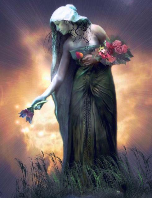 Dragonsfaerieselves theunseen persephone goddess of spring for Maitresse lilith
