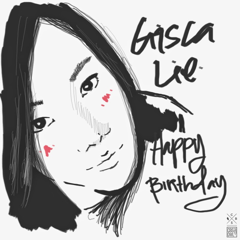 Happy Birthday Gisca Lie