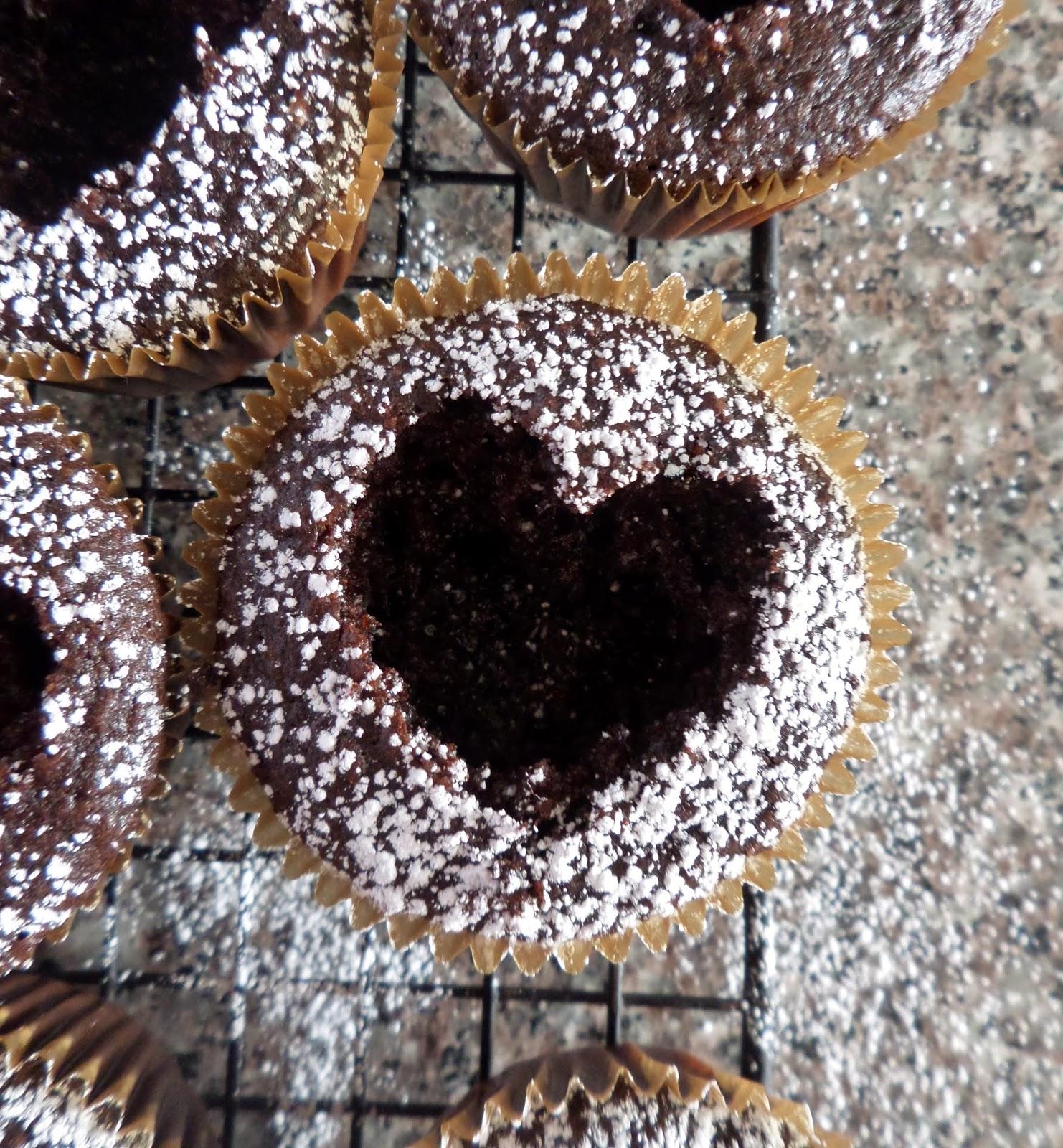 Dark Chocolate Cherry Cordial Cupcakes