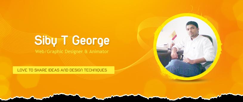 Siby T George  Proffessional logo designer    website designer   graphic designer