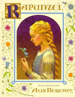 bookcover of Rapunzel by Alix Berenzy