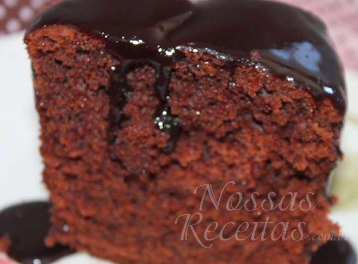Receita de Bolo de chocolate – o melhor do mundo