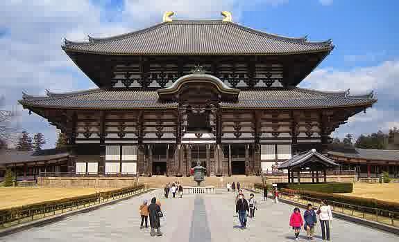 """Todaiji (東大寺, Todaiji, """"Kuil Timur Besar"""")"""