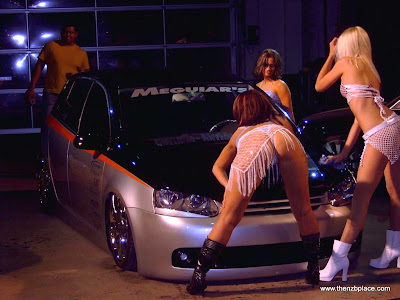 beautiful car girls USA show