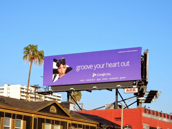 Google Play Janelle Monae Groove your heart out billboard