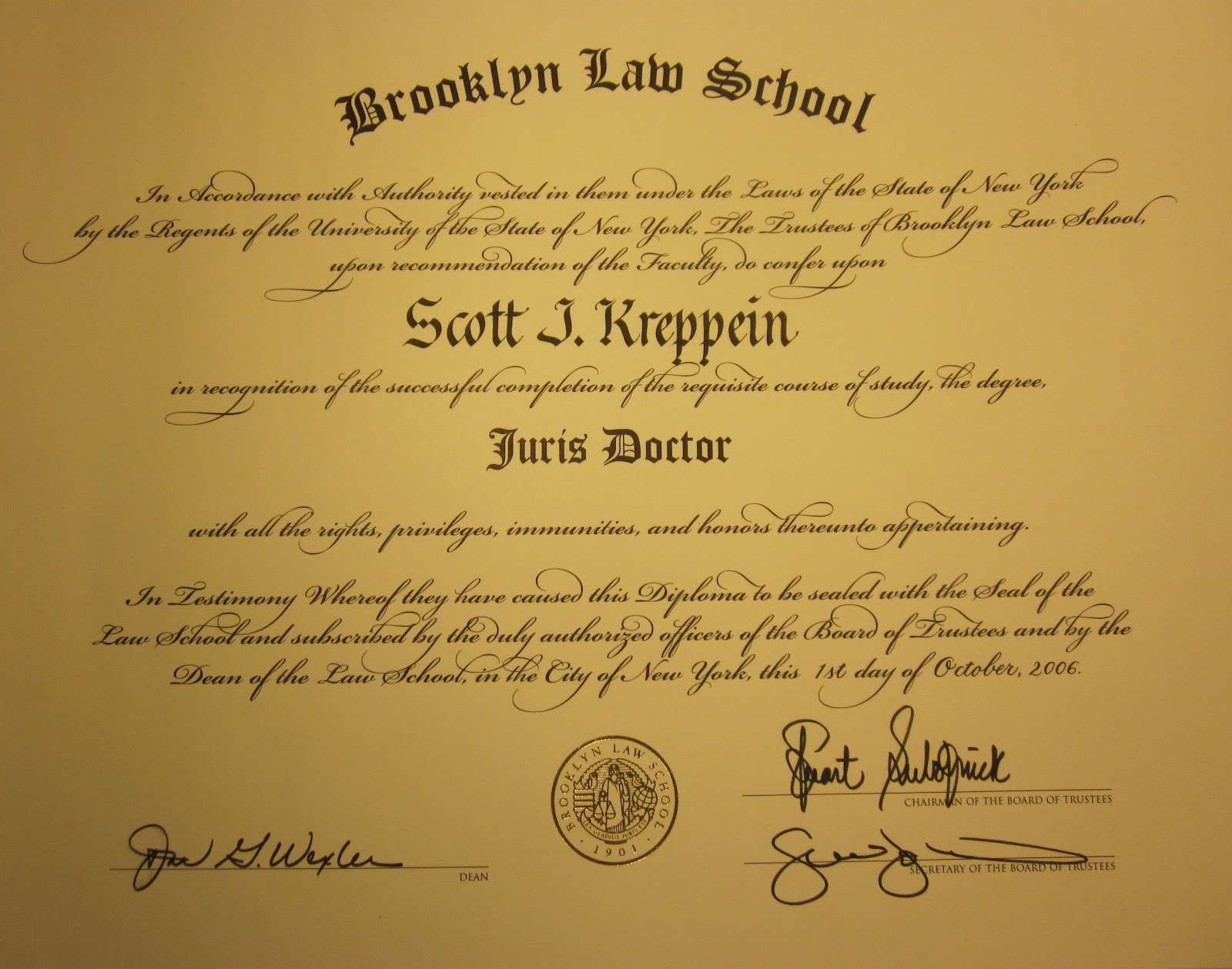 Long Island Lawyer Scott Kreppein
