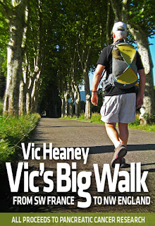French Village Diaries guest post Vic Heaney Vic's Big Walk