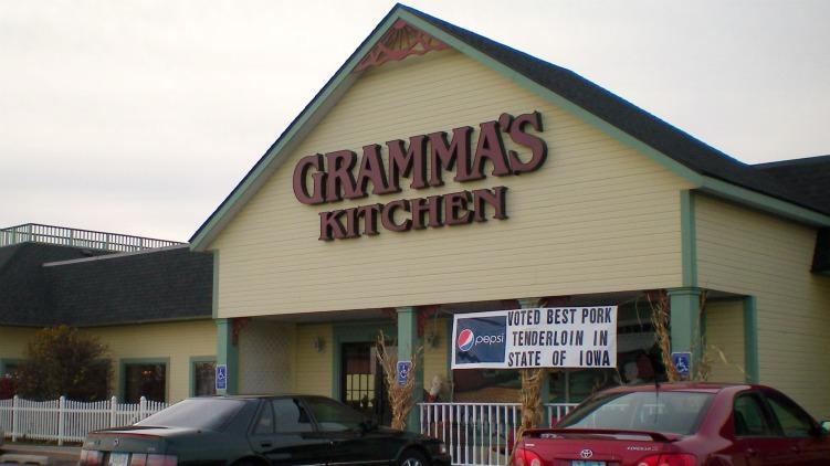 Gramma S Kitchen Menu Walcott Ia