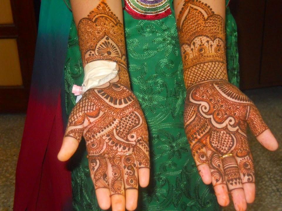 Fancy Henna Mehndi For Girls : Beautiful latest simple arabic pakistani indian bridal