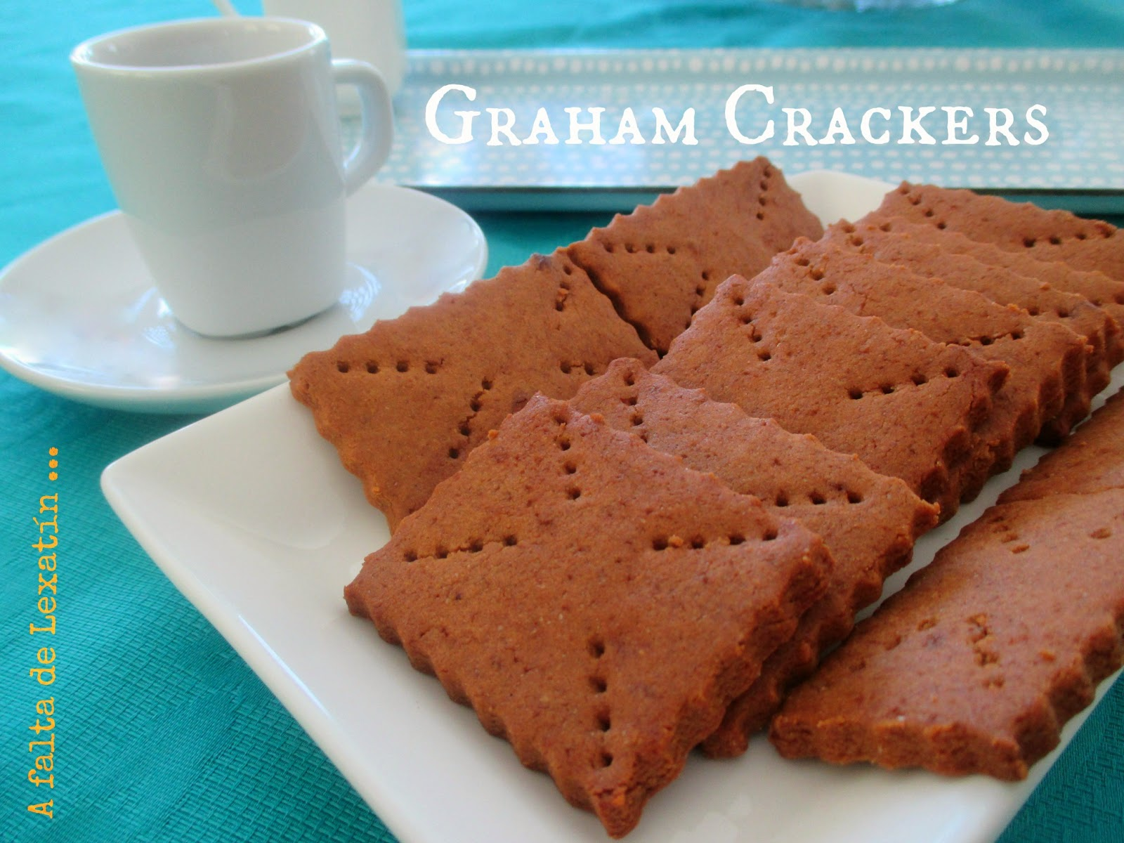 Galletas Graham // Graham Crackers