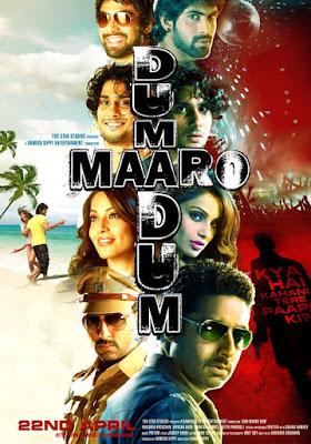Dum Maaro Dum (2011) DVD Rip 475 MB, Dum Maaro Dum movie poster, Dum Maaro Dum poster, Dum Maaro Dum dvd cover poster, Dum Maaro Dum dvd cover, Dum Maaro Dum cover poster