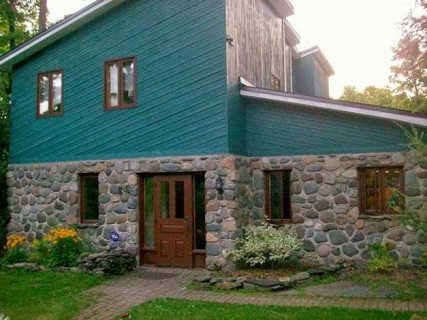 Fachadas de piedra fachadas de casas con muros de piedra - Piedra artificial para fachadas ...