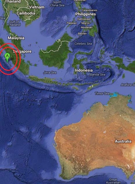 Magnitude 4.4 Earthquake of Muara Siberut, Indonesia 2014-10-12