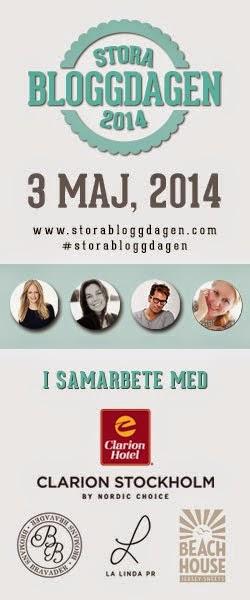 Sponsor till Stora Bloggdagen !