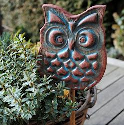 Gartenstecker aus Keramik