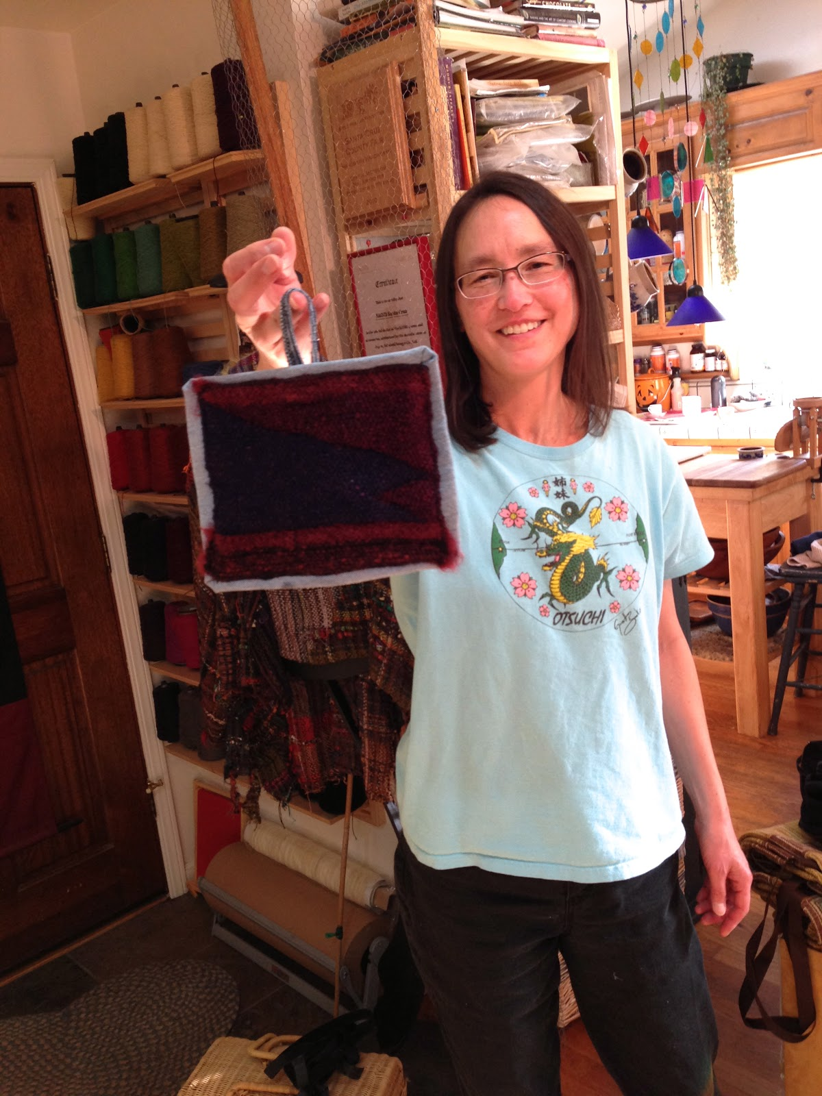 how to build a saori loom