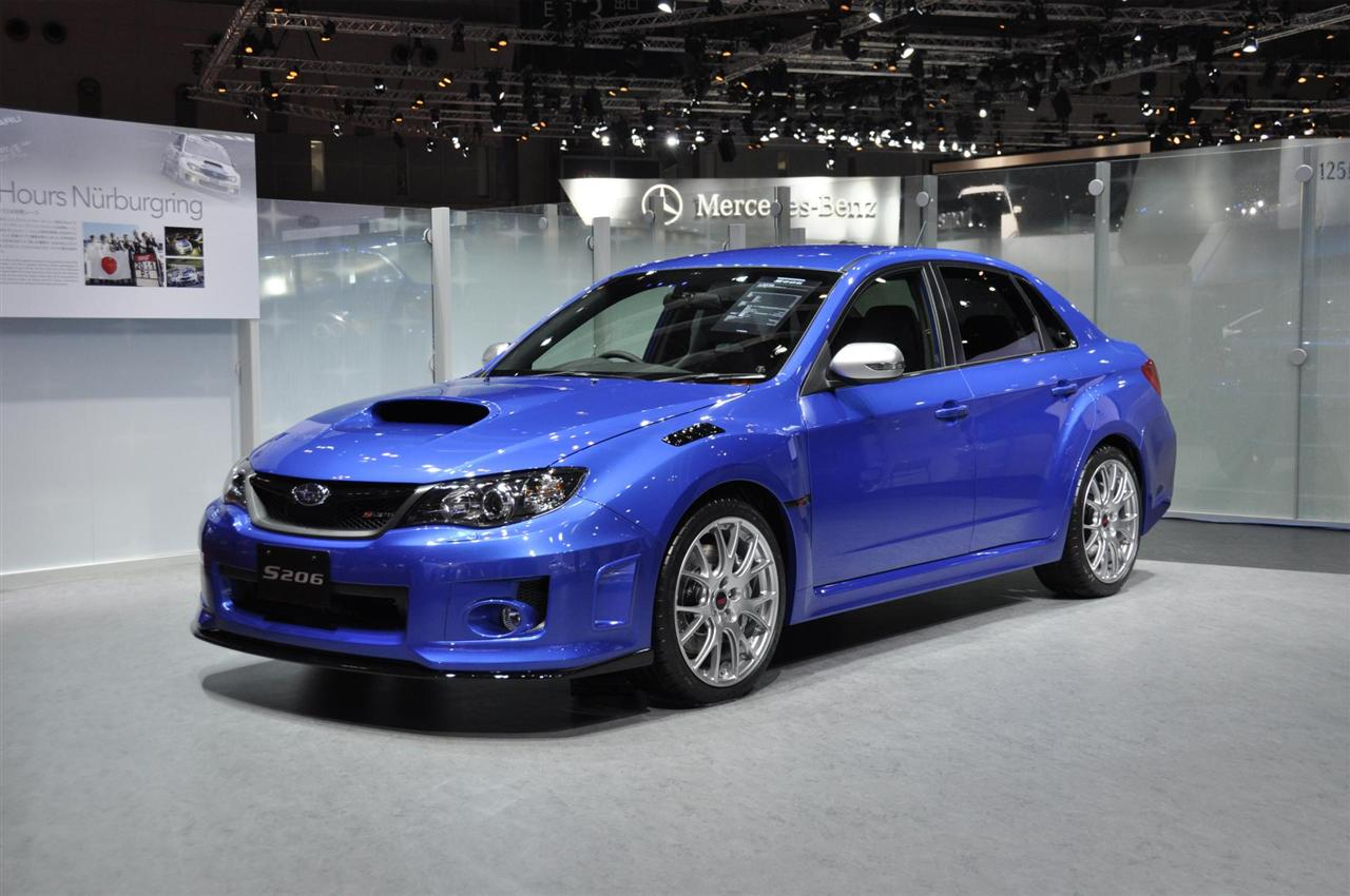 2012 subaru wrx sti s206 wallpapers - car wallpapers