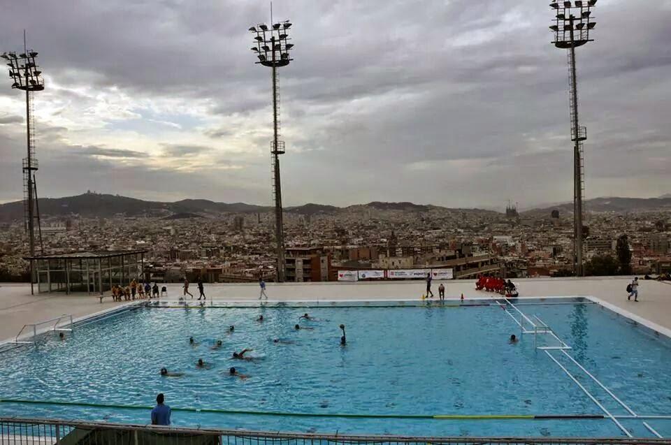 Rbitros de waterpolo campeonatos de catalunya piscina for Piscina municipal manresa