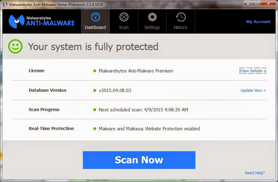Install Malwarebytes Anti-Malware Premium plus Serial Key