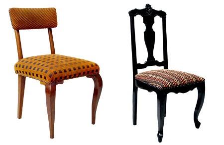 Blog decora o de interiores cadeiras antigas reformadas for Interiores de caravanas reformadas